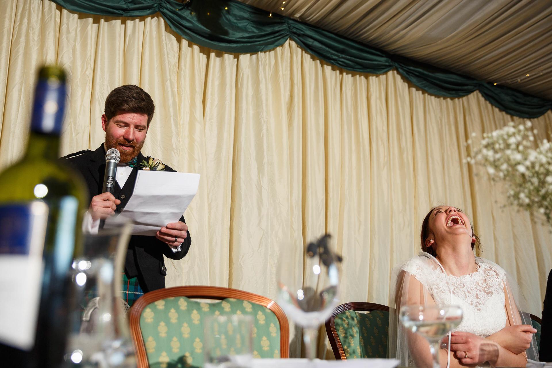 Wedding photographer Forfar Dundee relaxed fun natural Aberdeen Edinburgh