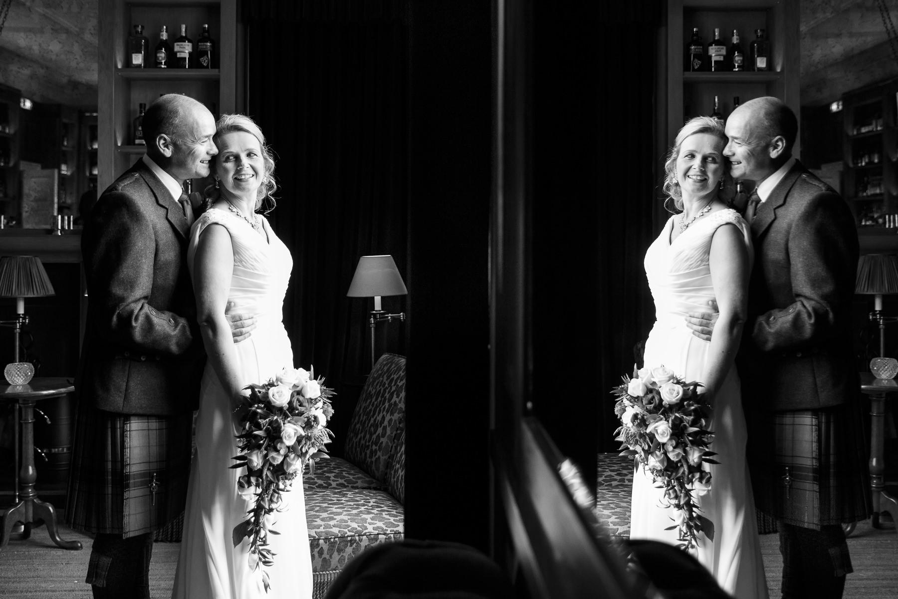wedding photographer Forfar Angus Dundee fun natural relaxed documentary destination Craigellachie