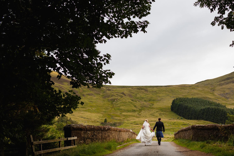 Wedding photographer Angus Forfar Dundee fun natural documentary Glen Clova