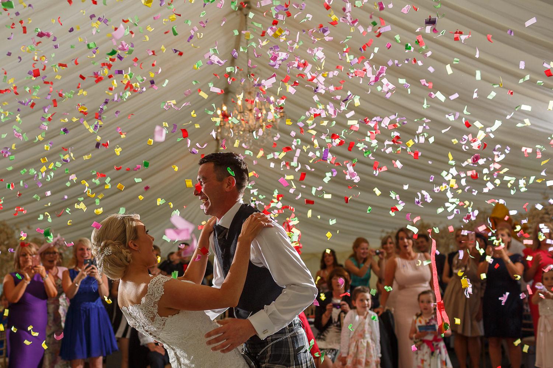 wedding photographer Kinnettles Castle Dundee Angus Scotland Perth