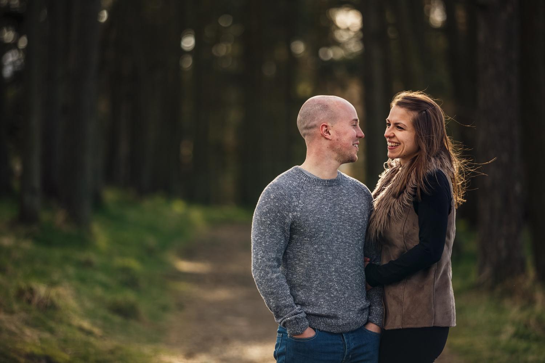 pre wedding photoshoot wedding couple bride groom mr mrs Scotland Dundee Angus