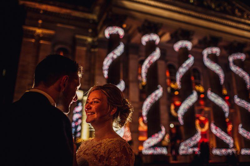 wedding photographer Edinburgh fun natural dress The Principle George Street