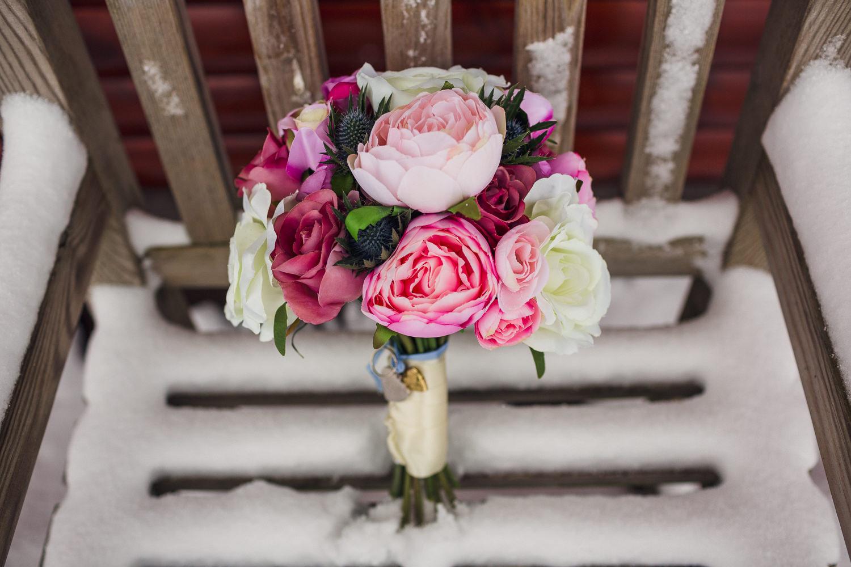 Florist Dundee wedding Piperdam