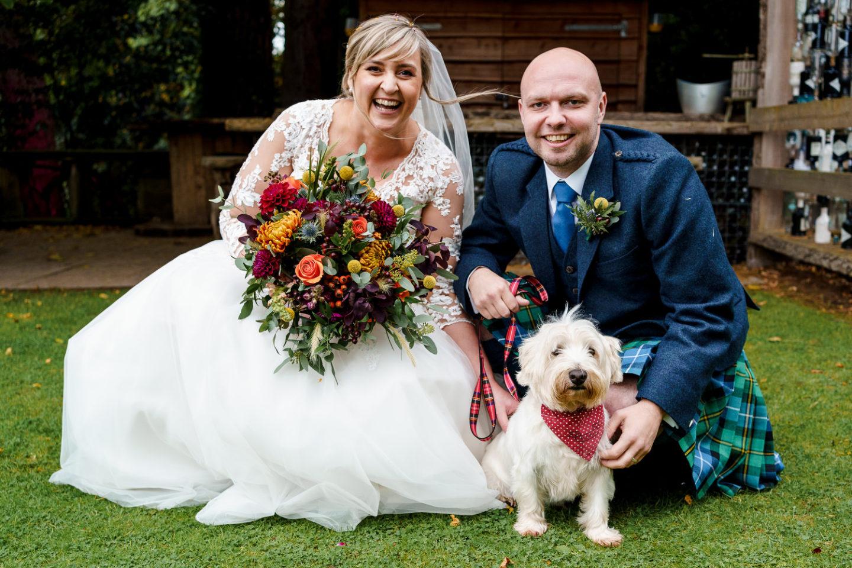 Taypark House wedding, Dundee wedding photographer, Scotland wedding venue, Documentary wedding, Barry Robb Photography, dogs at weddings