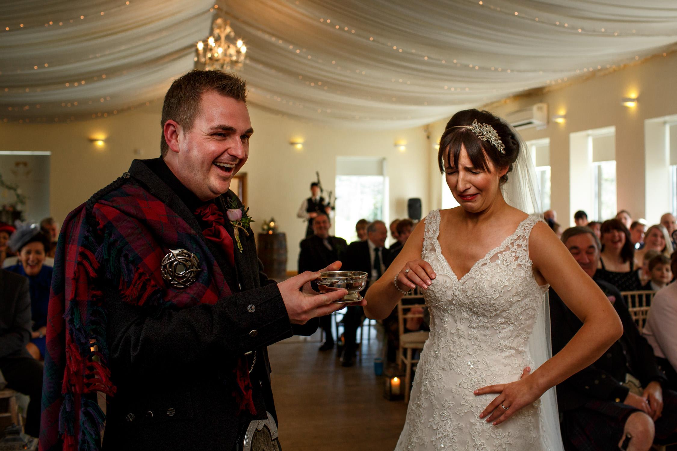 Scotland Wedding photographer, natural wedding photos, Edinburgh Wedding, Fingask Castle, Documentary Wedding photographer , Autumn wedding , Winter wedding photographs, creative wedding photographs , Barry Robb Photography