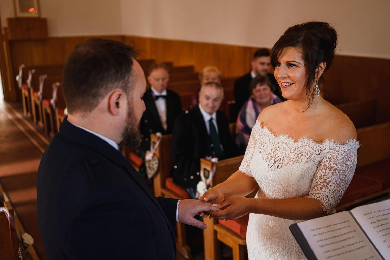 Glen Clova wedding photographs , Scotland elopement , documentary wedding photography