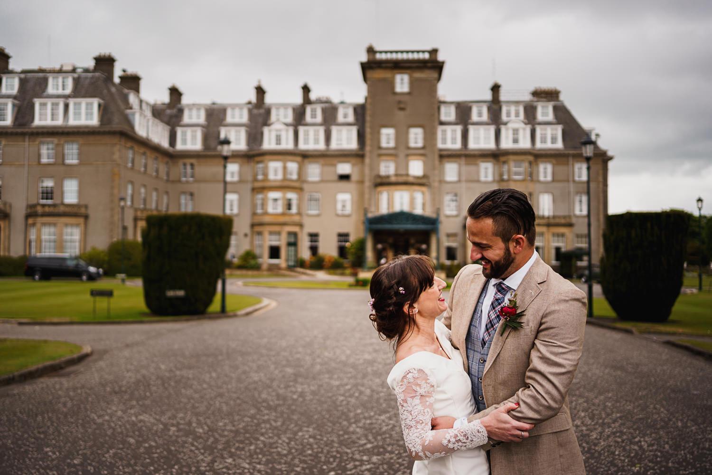 Gleneagles Hotel Wedding photos, natural wedding photographs, documentary wedding photography, Scotland wedding photographer